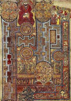 The Book of Kells (ca. 800)