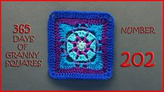 365 Days of Granny Squares Number 202