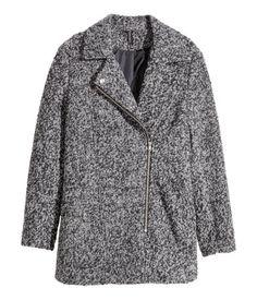 Wool-blend Biker Coat | H&M US
