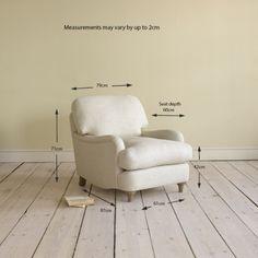 Arm Chair Jonesy – Lovely British Armchairs Online Jonesy Armchair in thatch house fabric - Armchairs | Loaf