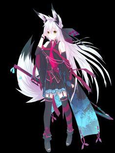 Fox Anime Girl