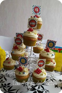 Las flores del cactus : Anniversaire Lego / Cumpleaños Lego