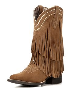 Ariat | Women's Fringe Powder Cowgirl Boot | Country Outfitter