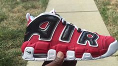 Scottie Pippen's Nike Air More Uptempo 96 Asia Hoop Red Is Returning In Men's Sizes