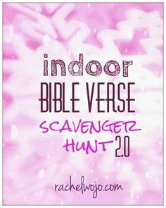 Indoor Bible Scavenger Hunt is part of children Church Youth Groups - Indoor Bible Scavenger hunt A fun free printable to read the hints,look up the Bible verse, solve the question, and even photo the answer! Youth Group Lessons, Youth Group Activities, Church Activities, Bible Activities, Indoor Youth Group Games, Games For Youth Groups, Youth Bible Study Lessons, Youth Group Events, Sabbath Activities