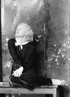 Bette Davis in a 1934 photo by Charles Gates Sheldon