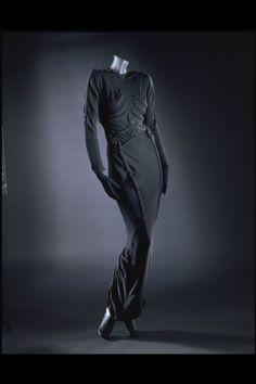 Skeleton Dress  Elsa Schiaparelli, 1938  The Victoria & Albert Museum