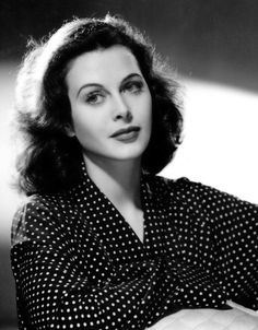 Drop-dead-gorgeous Hedy Lamarr - by Clarence Sinclair Bull
