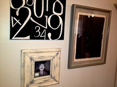 Kohlston Designs Kate frame rounding out this lovely wall decor.