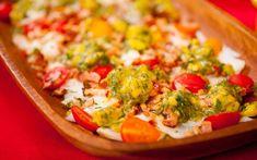 Salada de bacalhau com abacate e bacon: Receita do André Mifano