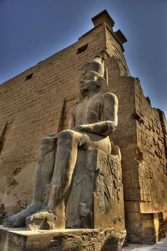 From Luxor Temple 1400 BCE in Luxor, Egypt. #Sightseeing #Tours #Packages #Holidays