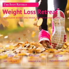 We are so looking forward to our next Weight Loss Retreat. Check out the link for more details.