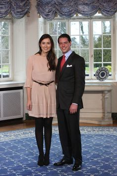Claire Lademacher - Prince Felix Of Luxembourg And Claire Lademacher Portrait Session