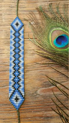 image 0 I needed to exhibit you steps to make a bracelet with natural stone and leather thread with video. Loom Bracelet Patterns, Bead Loom Bracelets, Bead Loom Patterns, Beaded Jewelry Patterns, Peyote Patterns, Beading Patterns, Seed Bead Necklace, Seed Bead Jewelry, Bead Loom Designs
