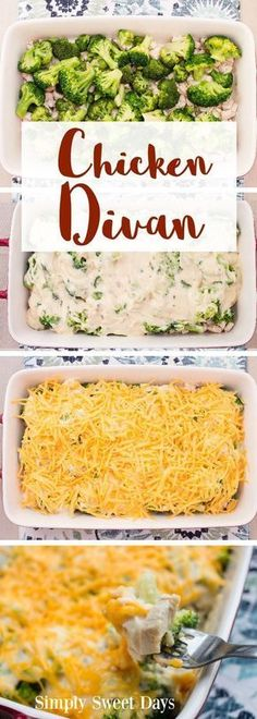 This is my family's go-to easy recipe for a weeknight chicken casserole. We always serve ours with rice, but you could use a side of biscuits instead. The broccoli, creamy, sauce, and cheesy topping make it great for everyone in the family, from toddlers to adults!