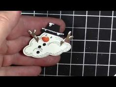 Judi's video on how to build a snowman using Sprinkles of Life and Tree Builder punch - all from Stampin' Up!