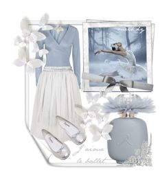 J'aime le ballet by meikhy on Polyvore featuring polyvore fashion style Banjo & Matilda Oh My Love Repetto Les Parfums De Rosine clothing