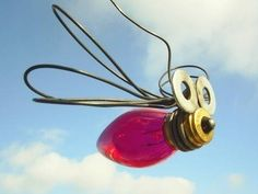 JUST COOL-adventure in design: DIY :: recycled bugs