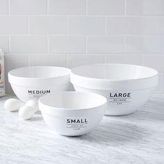 Utility Mixing Bowl Set #westelm