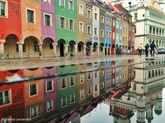 Photo Souvenir from rainy Poznań by Joanna Lemanska on 500px