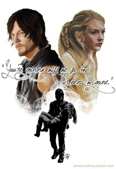 The Walking Dead Daryl and Beth