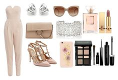 """Untitled #27"" by valeriatrujillog on Polyvore featuring AX Paris, Georgini, STELLA McCARTNEY, Valentino, Chloé, Suzanne Kalan, Dolce&Gabbana, Yves Saint Laurent, Bobbi Brown Cosmetics and Givenchy"