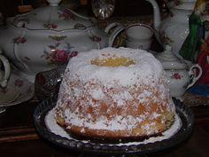 Domowe ciasta i obiady: Cytrynowa babka puchowa Vanilla Cake, Projects To Try