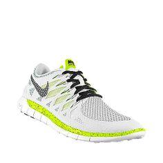 Nike Free 5.0 - White & Luminous
