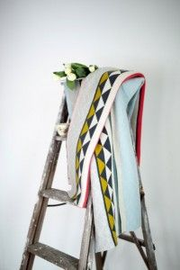 Vilma blanket from FunkyDoris by FunkyDoris Throw Cushions, Scandinavian Design, The Help, Ladder Decor, Contemporary, Blankets, Light Blue, Range, Classic