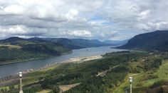 food/drink map for columbia river gorge road trip