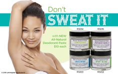 All Natural Deodorant| Lemongrass Spa Products| SGLemongrass| All-Natural Skin Care| Cruelty Free|