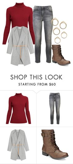 """""""Untitled #10787"""" by bj837101 ❤ liked on Polyvore featuring Rumour London, Current/Elliott, Vanessa Bruno and American Rag Cie"""