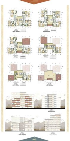 Hotel Architecture, Indian Architecture, Concept Architecture, Residential Architecture, Architecture Design, Town House Floor Plan, Hotel Floor Plan, Architectural Floor Plans, Architectural Drawings