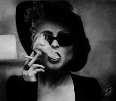 Marla black and white