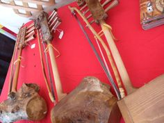 handcrafted wooden instruments from Siberia