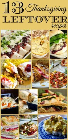 I love Thanksgiving leftovers ALMOST as much as Thanksgiving dinner itself! This list has everything from breakfast to dinner ideas and everything in between! Some would even make great freezer meals!