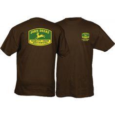 John Deere Mens Tee Shirt 1950-1956 TM Logo - T-shirts - Men's | RunGreen.com
