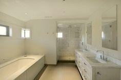 Sound Shore Contemporary contemporary-bathroom