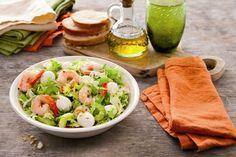 Recette Salade de la mer à la Mozzarella