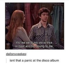 far too young to die by Panic! at the Disco