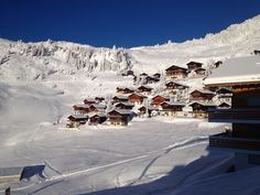 Riederfurka in all it's glory........slopes in peak condition