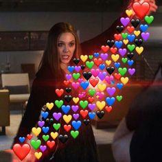 I love you thiiiiiiiiiiiiiiiiis much Avengers Memes, Marvel Memes, Dankest Memes, Funny Memes, Funny Shit, Heart Meme, Heart Emoji, Cute Love Memes, Crush Memes