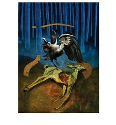 American Gods | Folio Illustrated Book by Dave McKean for Folio Society
