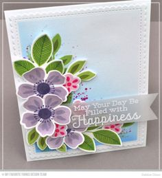 MFT May Kit RELEASE: Flashy Florals