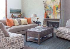 Artfully Appointed - Seabury Sofa