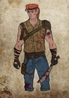 The Walking Disney : Herc by Kasami-Sensei.deviantart.com on @DeviantArt