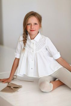 Spring Summer 2018 - Lapin House Baby Girl Skirts, Little Girl Dresses, Fashion Design For Kids, Kids Fashion, Cute Toddler Girl Clothes, Kids Nightwear, Baby Girl Dress Patterns, Girls Blouse, Little Girl Fashion