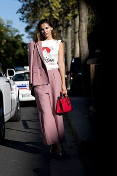 The latest and greatest street style looks from Paris, arguably the style capital of the world.
