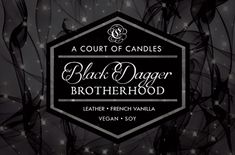 Black Candles, Soy Wax Candles, Scented Candles, Black Dagger Brotherhood, Wedding Tattoos, Design Quotes, Fantastic Beasts, The Hobbit, Art Education