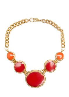 MANGO - TOUCH - Resin circles necklace
